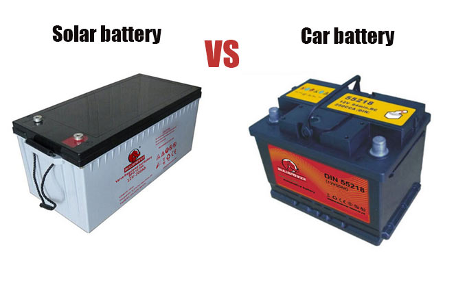 Car Battery or Solar Battery: Is it okay to use a car battery for your solar system?