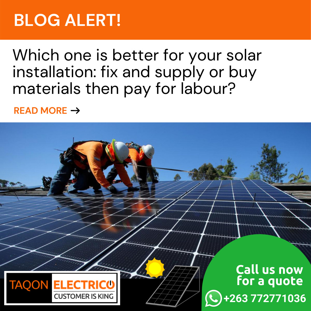 which is the best way to do your solar installation?
