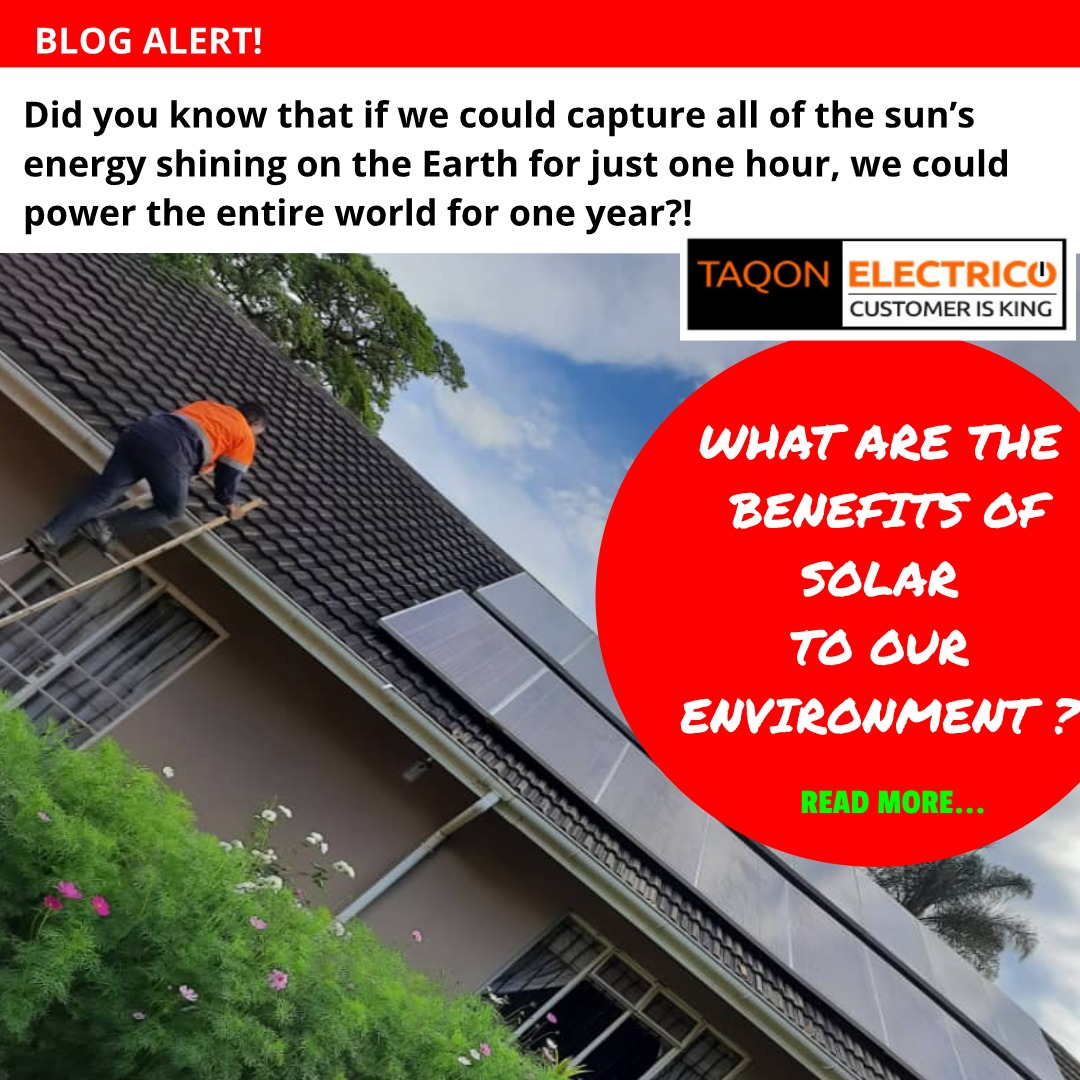 Benefits of solar energy to the environment in Zimbabwe
