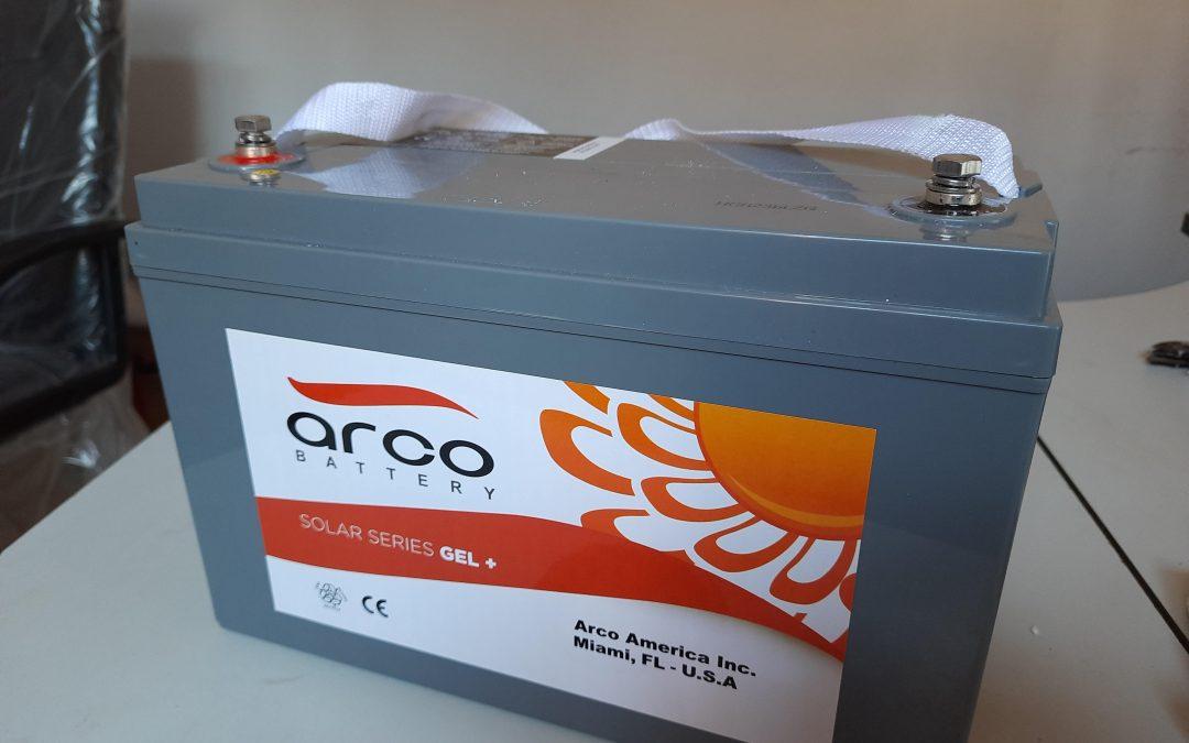 arco 120ah 12v gel battery