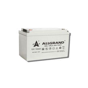 image showing Allgrand 100ah solar battery