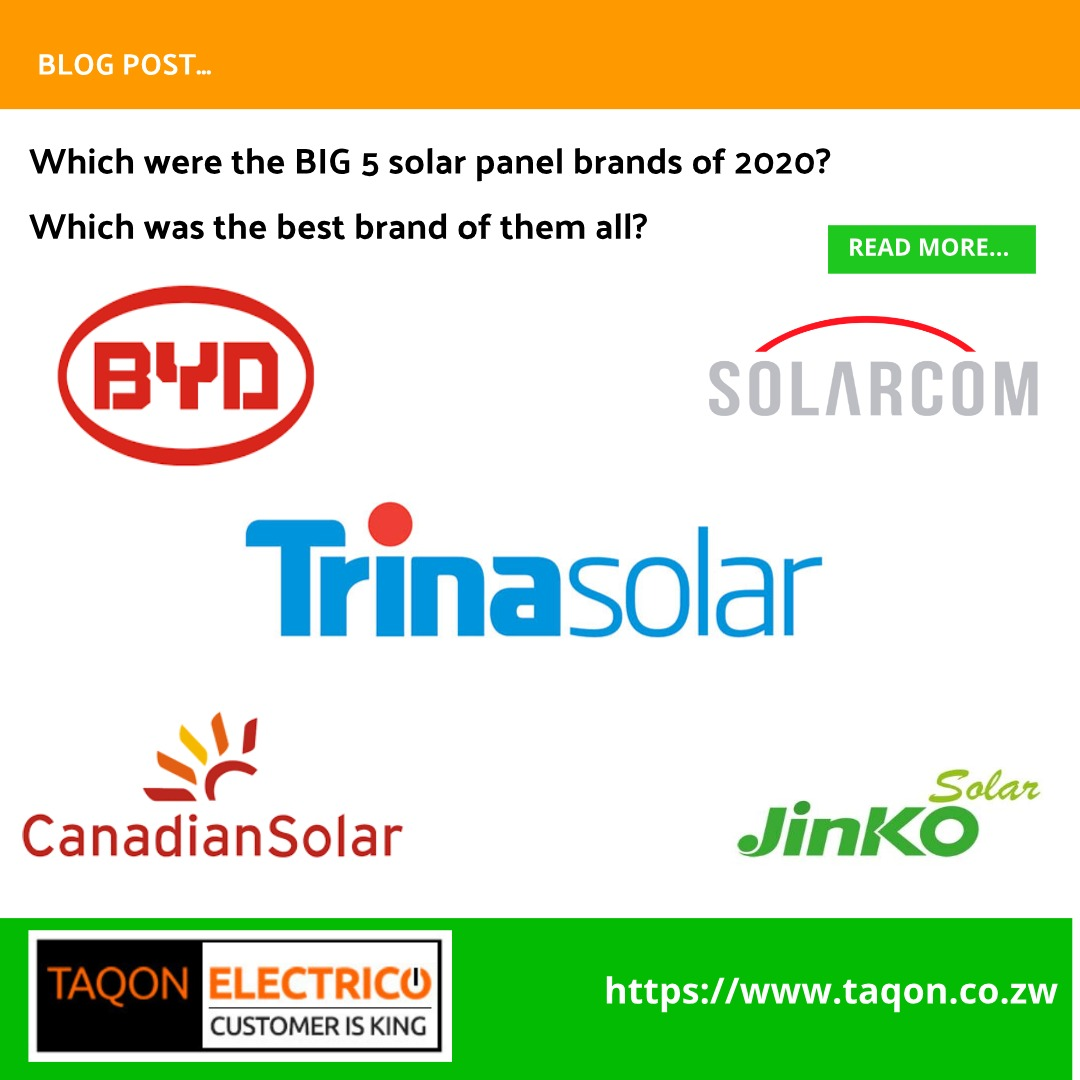 The 5 best solar panels in Zimbabwe in 2020