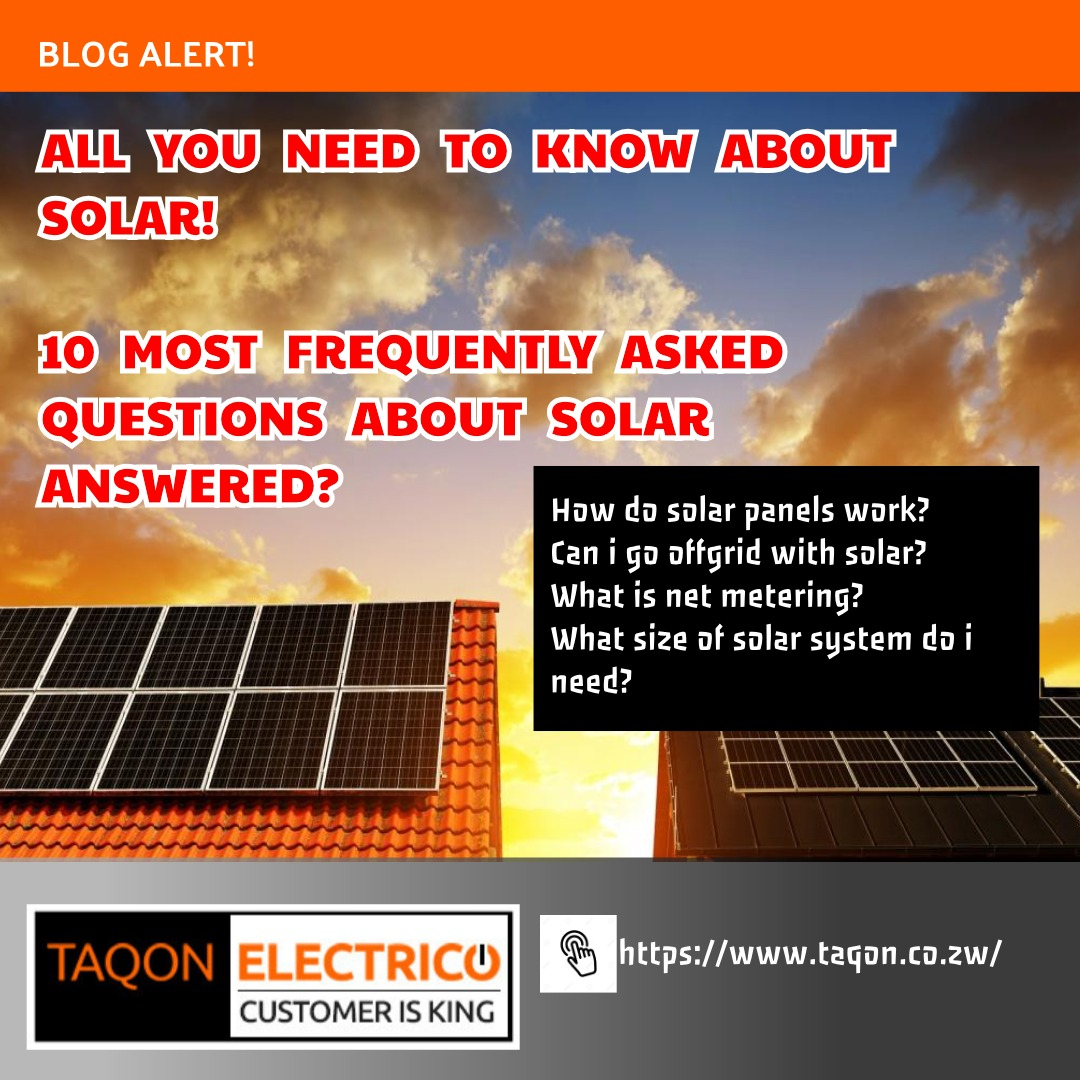 All you need to know about solar.