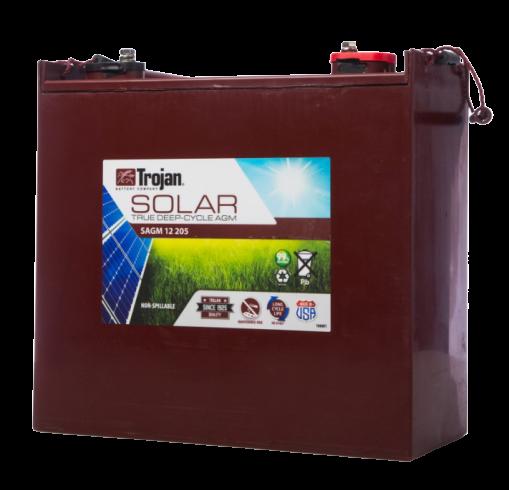 trojan solar battery