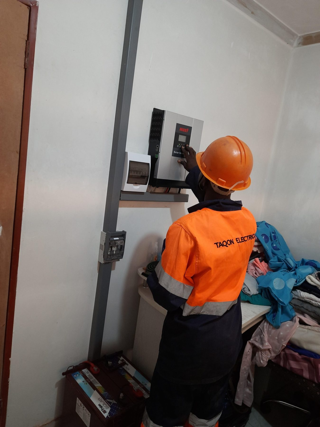 Aspindale Upgrade Project# Efficient solar installation companies in Harare