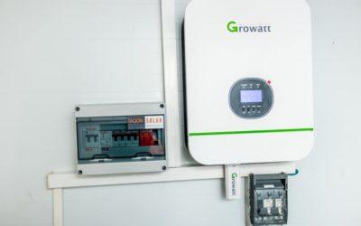 5KVA inverter 48V Growatt Installation : Chisipiti Harare